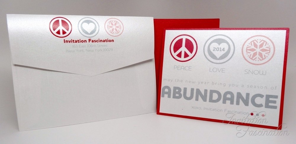 Invitation Fascination Holiday Cards