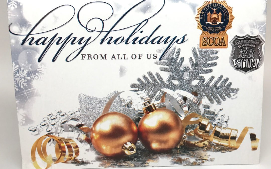 Supreme Court Officers Holiday Card